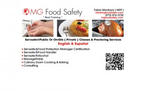 Atlantic County New Jersey Food Safety Training