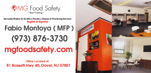 Servsafe Manager Certification Paterson NJ